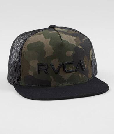 RVCA Camo Trucker Hat
