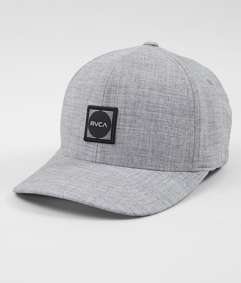 8d92ba75 RVCA Scores Stretch Hat - Men's Hats in Heather Grey | Buckle