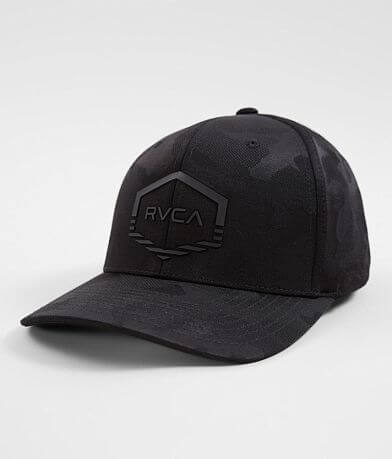 buy popular 3e7d4 aeafa RVCA Hex Split Stretch Hat
