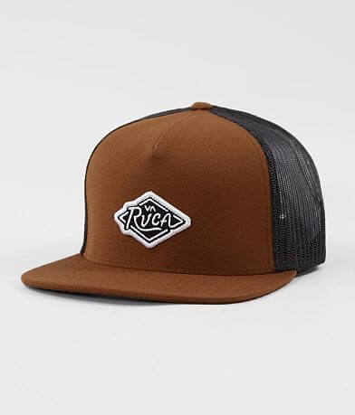 RVCA Script Trucker Hat