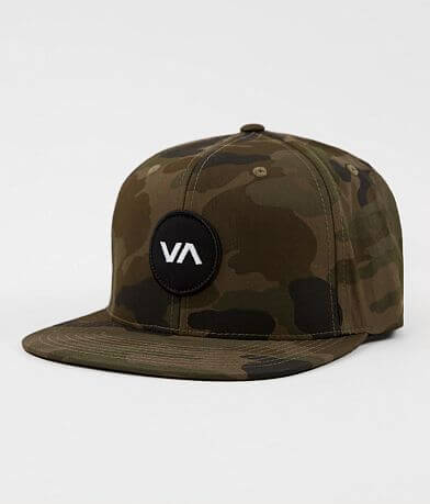 RVCA Patch Camo Hat