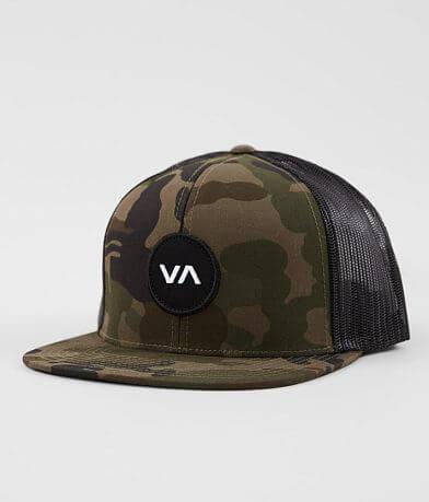 RVCA VA Patch Camo Trucker Hat