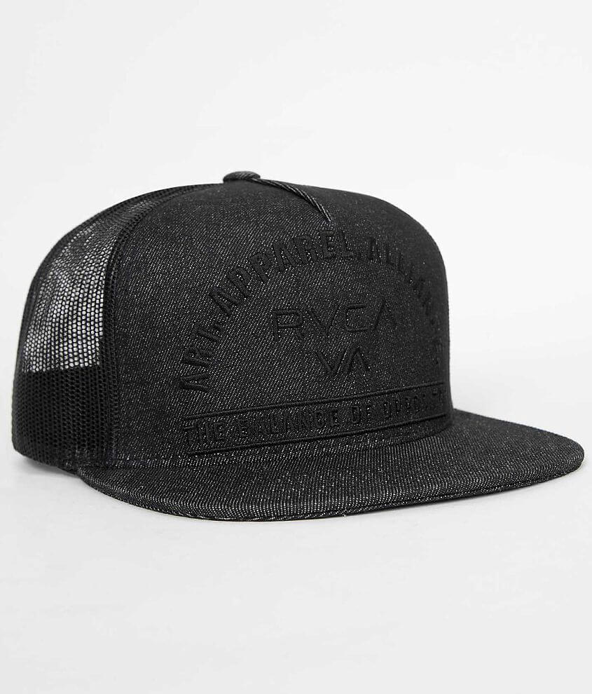 RVCA Arched Trucker Hat front view