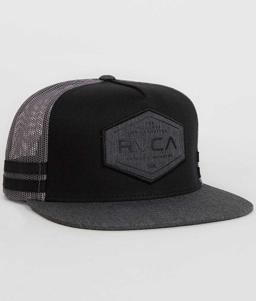 RVCA Kamotion Trucker Hat front view