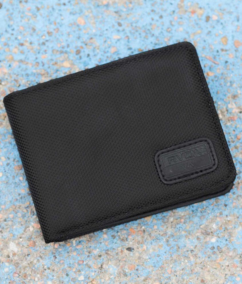 RVCA Ballastic Dispatch Wallet front view