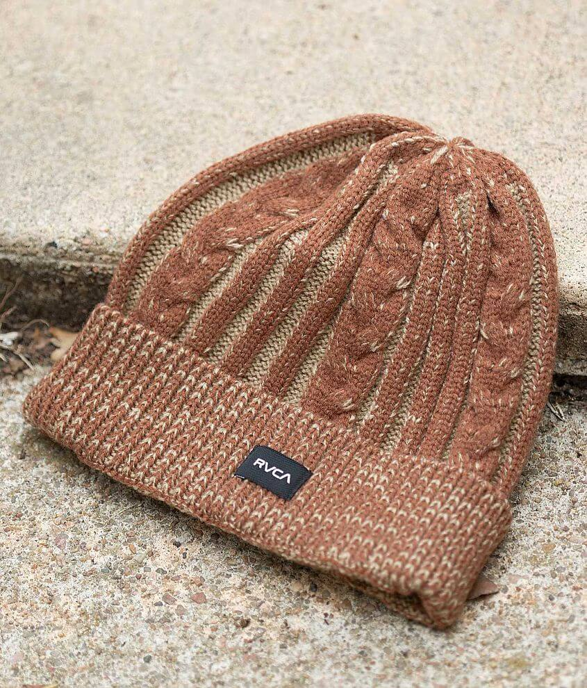 RVCA Judson Beanie front view