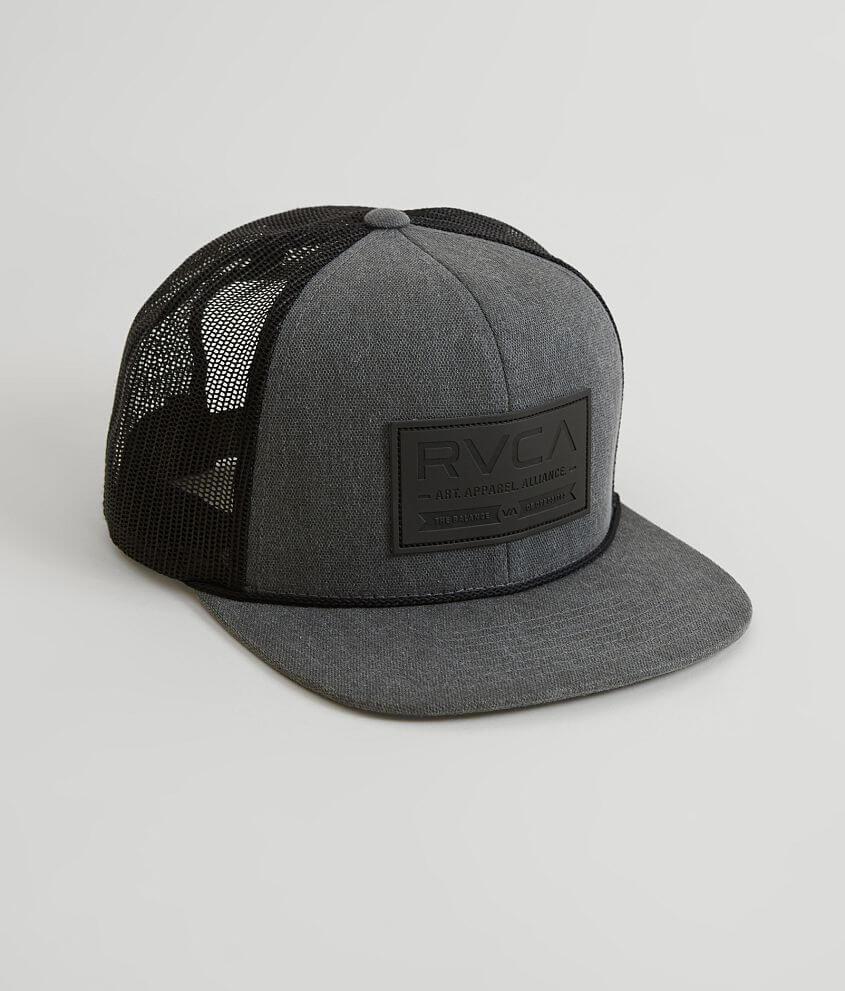 6b24a492ba889b RVCA Allience Trucker Hat - Men's Hats in Pirate Black | Buckle