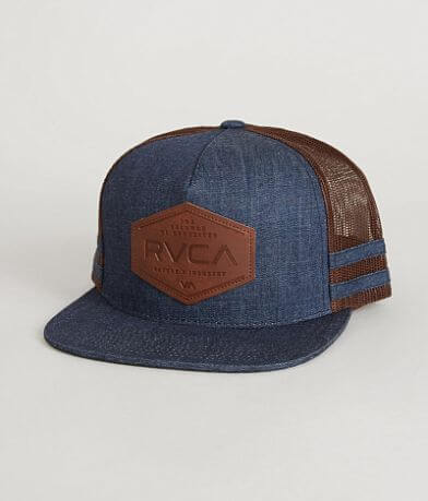 RVCA Balanced Stripes Trucker Hat