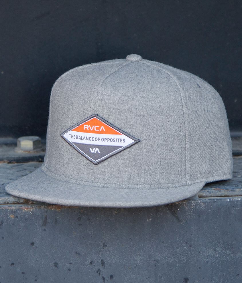 RVCA Difference Hat front view