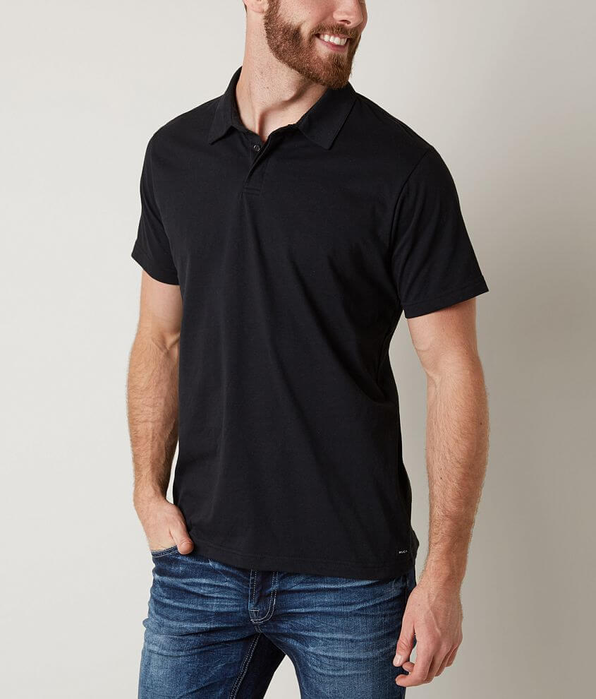 RVCA Sure Thing Polo front view