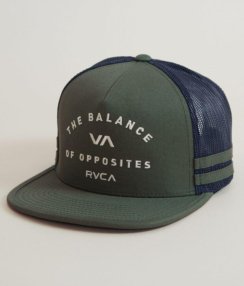 RVCA Challenger Trucker Hat front view