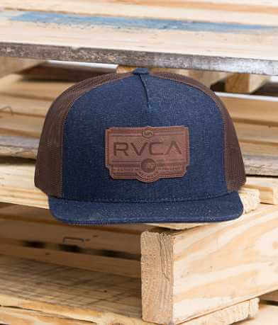 RVCA Wood Work Trucker Hat