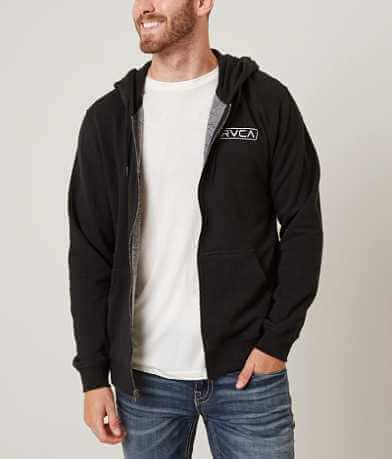 RVCA Label Hooded Sweatshirt