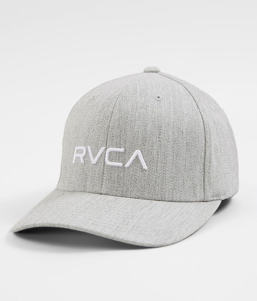 8369befc1de RVCA Wool Blend Stretch Hat - Men's Hats in Light Grey Heather | Buckle