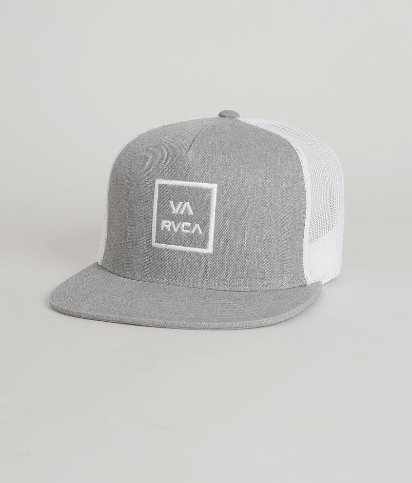 RVCA VA All Day Trucker Hat - Men s Hats in Heather Grey  0d1cd4a75dcb