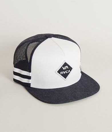 RVCA Denim Motion Trucker Hat