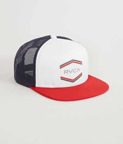 RVCA Double Hex Trucker Hat