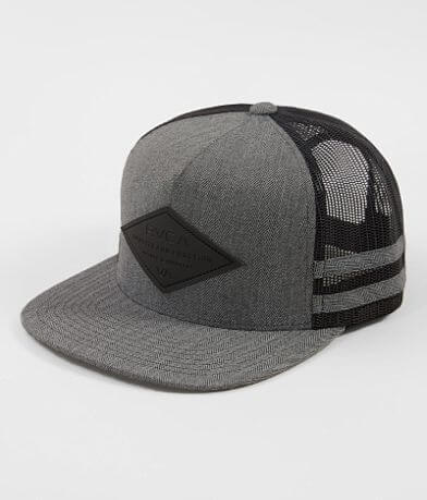 RVCA Transit Stripes Trucker Hat