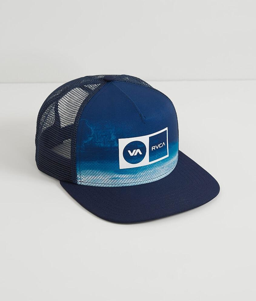 bf7b5279c4ab3 ... uk rvca electro trucker hat mens hats in ink blue buckle 79b9b 2bd06