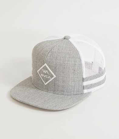RVCA Striped Trucker Hat