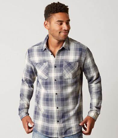 RVCA Neutral Plaid Shirt