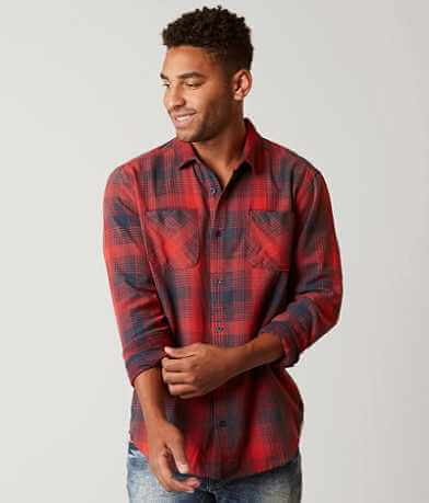 RVCA Neutral Plaid Shirt
