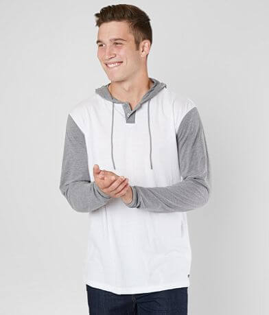 RVCA Pick Up Henley Hoodie