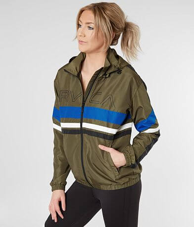 RVCA Team Color Block Jacket