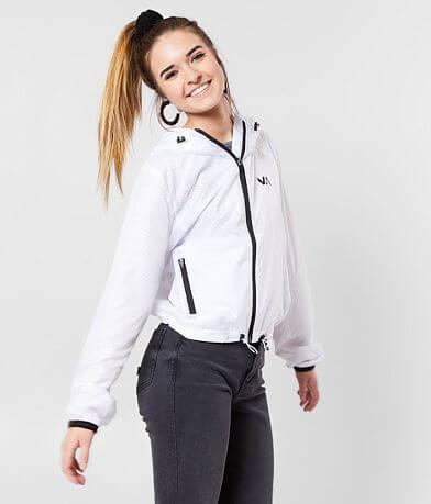 RVCA Ripstop Windbreaker Hooded Jacket