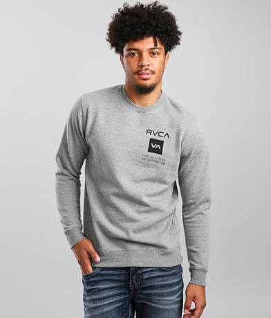 RVCA Sport Crew Pullover Sweatshirt