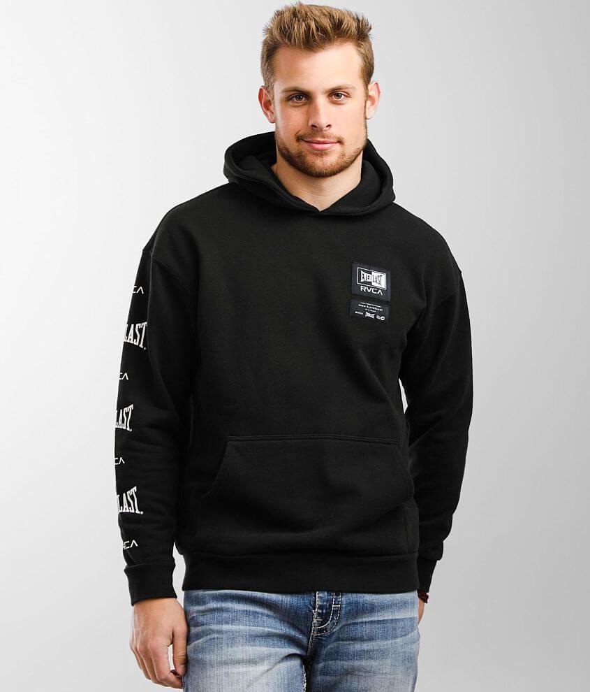 RVCA x Everlast® Sport Hooded Sweatshirt front view