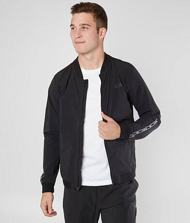 RVCA VA Resin Stretch Bomber Jacket