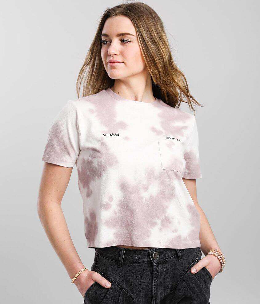 RVCA Small Crest Pocket T-Shirt front view