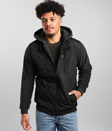 RVCA Terrain Hooded Puffer Jacket