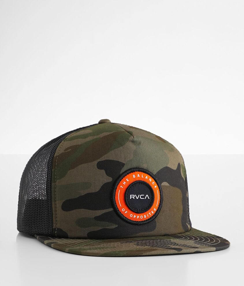 RVCA Centers Trucker Hat front view
