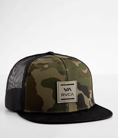 RVCA Camo Patch Trucker Hat