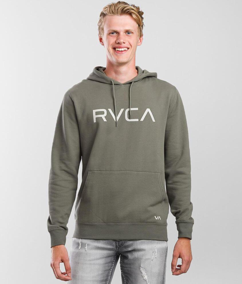 RVCA Big Hooded Sweatshirt front view