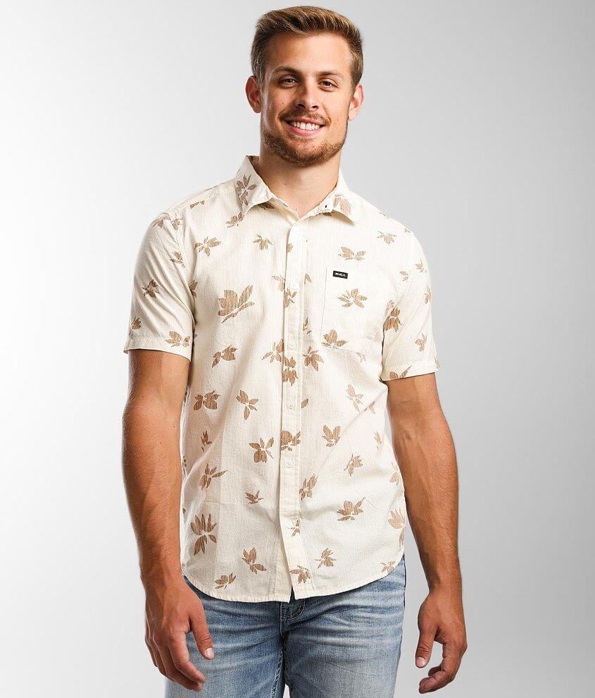 RVCA Endless Seersucker Shirt front view
