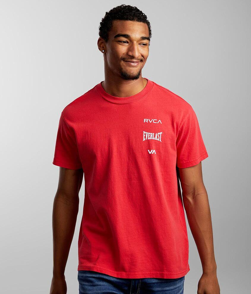 RVCA X Everlast® Stack T-Shirt front view