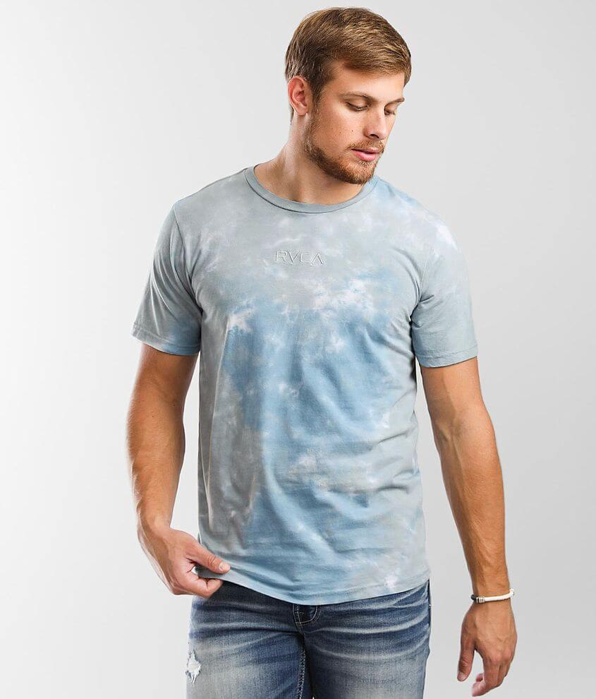 RVCA Small Tie-Dye T-Shirt front view