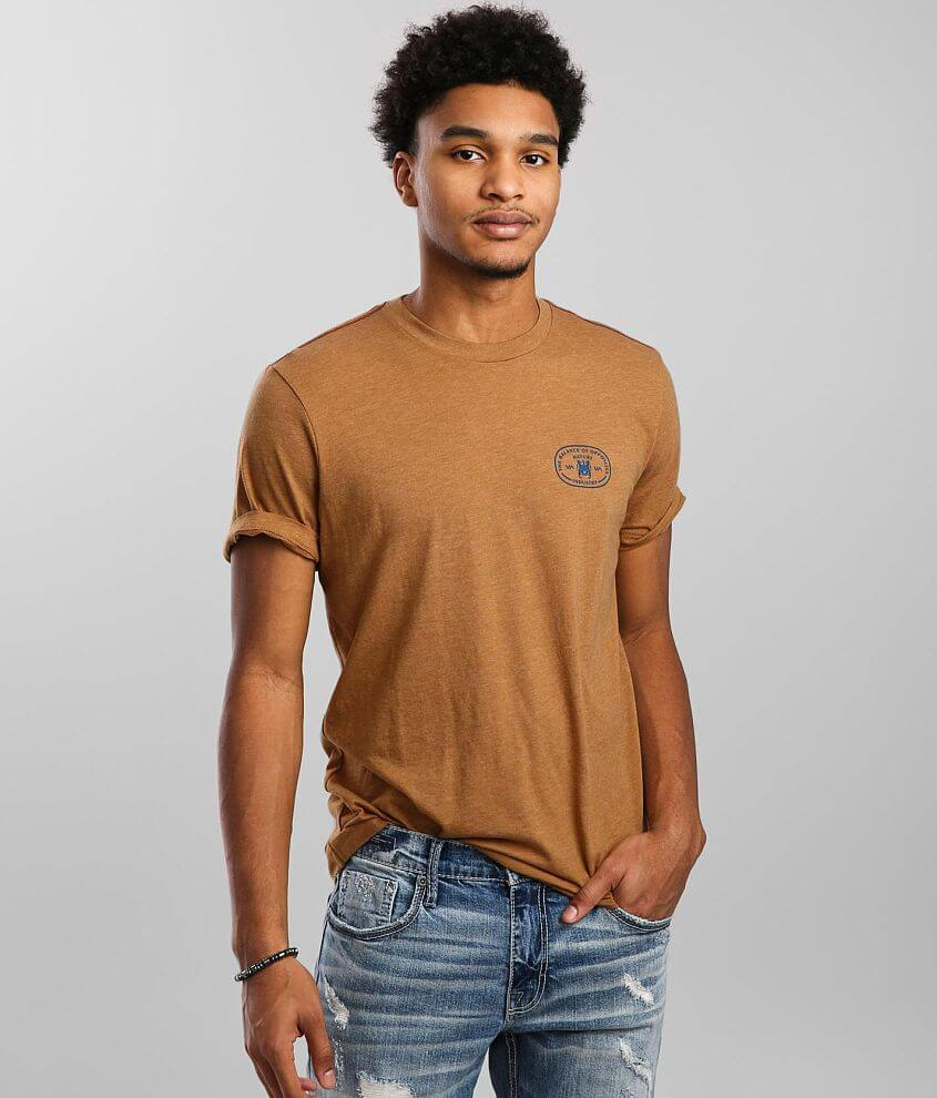 RVCA Balance Buckle T-Shirt front view