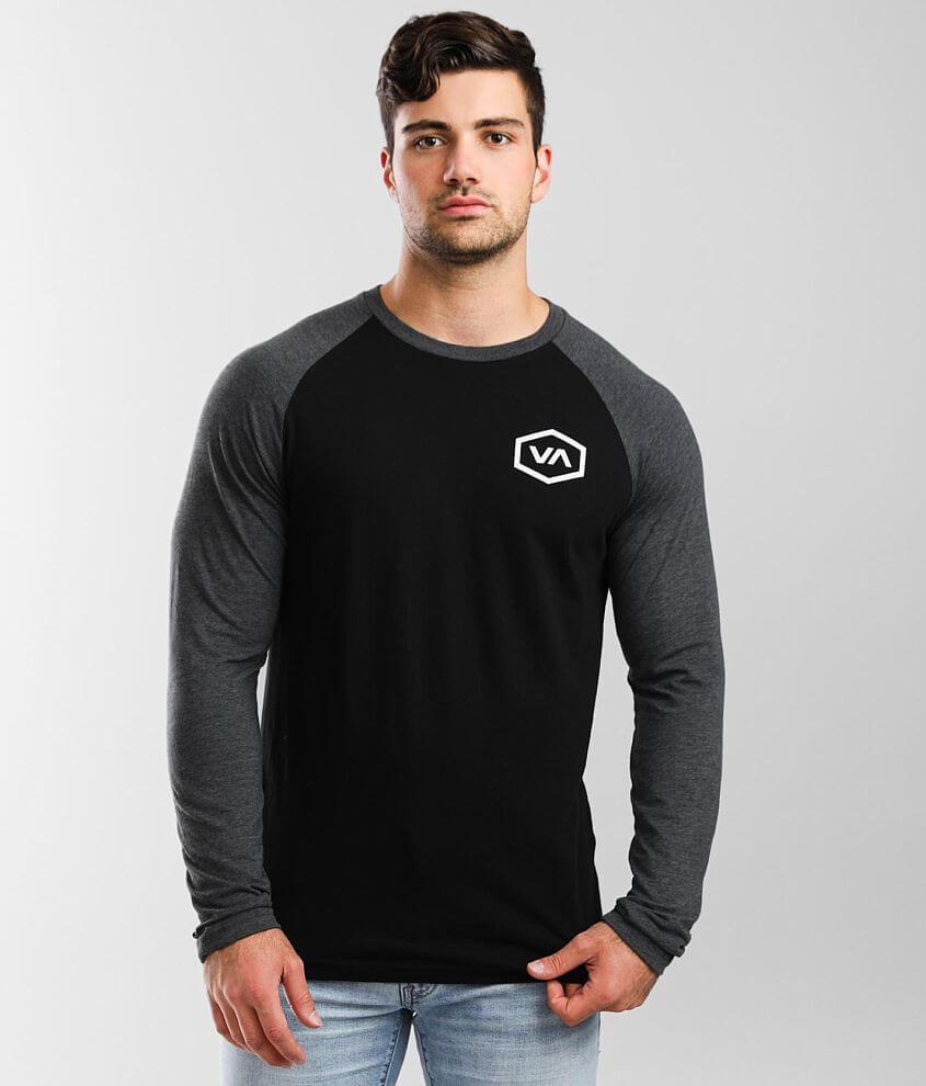 RVCA Demo Camo T-Shirt front view