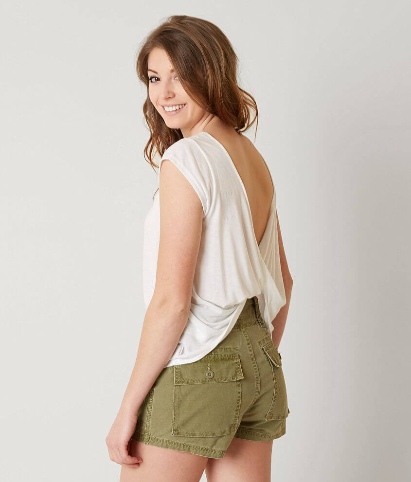 RVCA Cowl Back Top front view