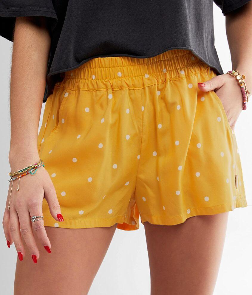 RVCA Suggest Polka Dot Short front view
