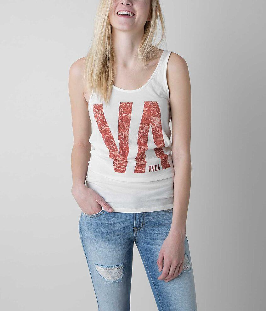 RVCA Tall Tank Top front view