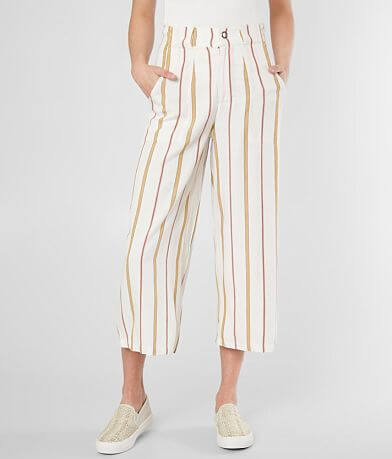 RVCA Fully Noted Woven Wide Leg Pant