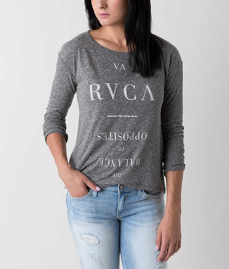 Rvca Substance Side T Shirt | Top and Clothing