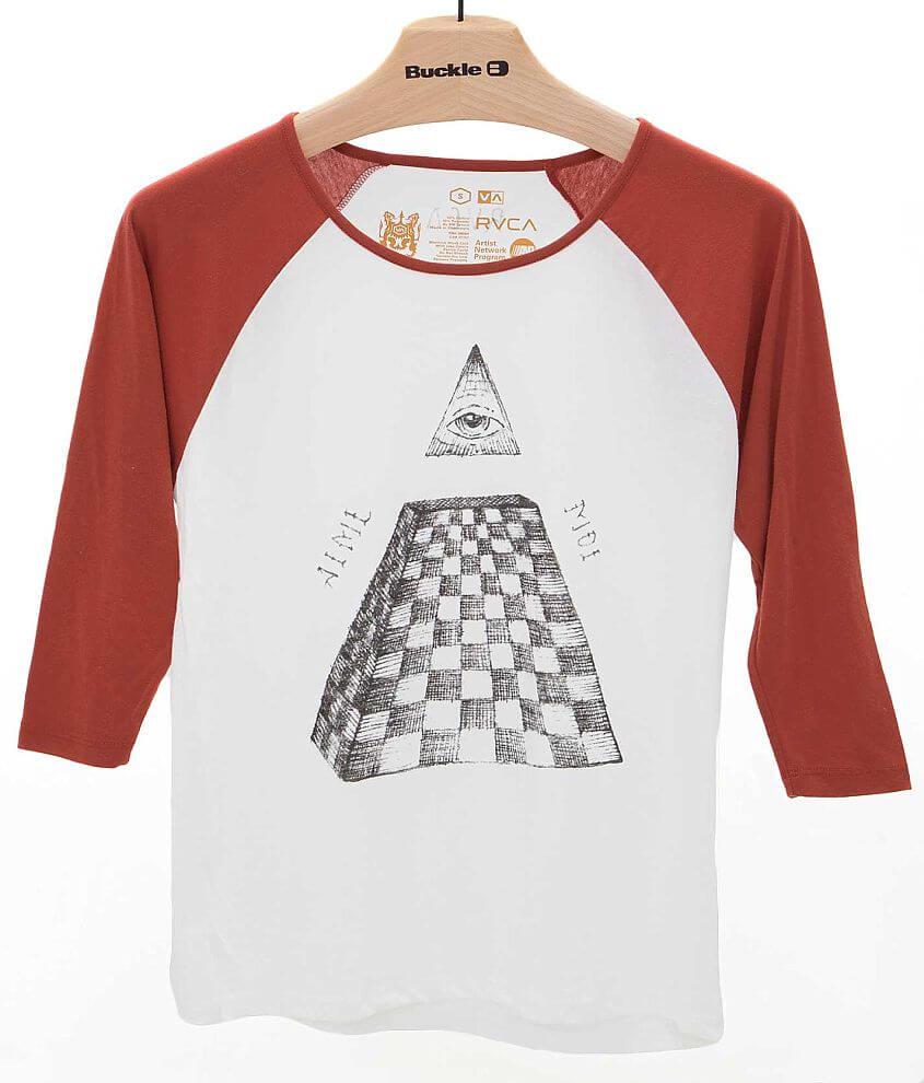 RVCA Pyramid T-Shirt front view