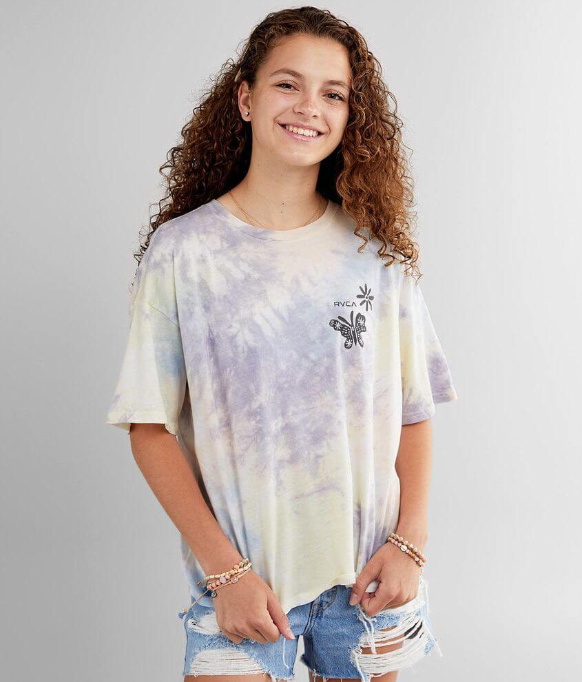 RVCA Michelle T-Shirt front view
