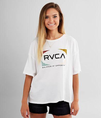 RVCA Quad Boyfriend T-Shirt